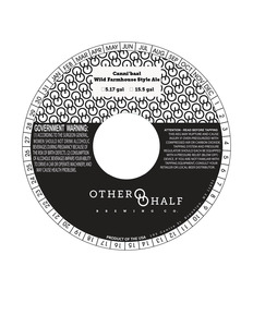 Other Half Brewing Co. Canni'baal