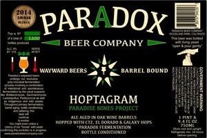 Paradox Beer Company Inc Hoptagram