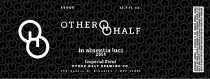 Other Half Brewing Co. In Absentia Luci 2014