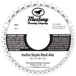 India Style Red Ale