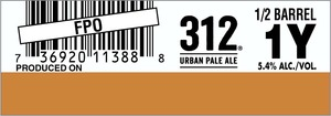 Goose Island Beer Co. 312 Urban Pale