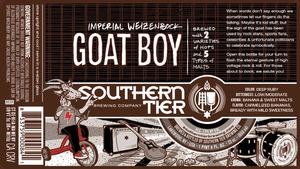 Southern Tier Brewing Company Goat Boy Imperial Weizenbock