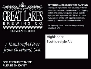 The Great Lakes Brewing Co. Highlander
