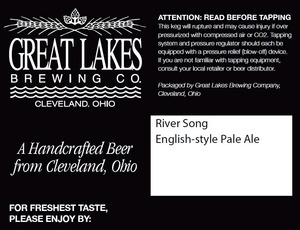 The Great Lakes Brewing Co. River Song