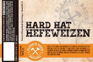 Klamath Basin Brewing Co. Hard Hat Hefeweizen