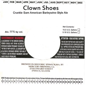 Clown Shoes Crunkle Sam