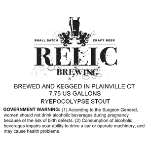 Relic Brewing Ryepocolypse
