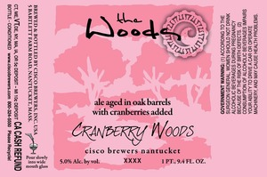 Cisco Brewers Cranberry Woods