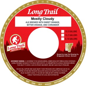 Long Trail Brewing Company Mostly Cloudy