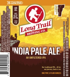 Long Trail Brewing Company An Unfiltered IPA
