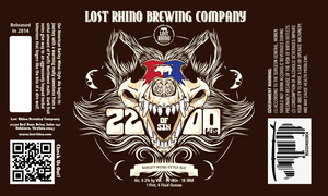 Lost Rhino Brewing Company 2200lbs Of Sin