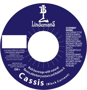 Lindemans Cassis