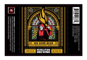 Revolution Brewing 4th Year Beer