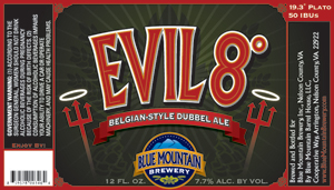 Blue Mountain Brewery Evil 8
