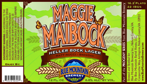 Blue Mountain Brewery Maggie