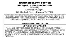 Karbach Brewing Co. Karbach Clown Lounge
