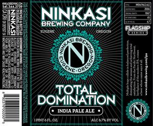 Ninkasi Brewing Company Total Domination