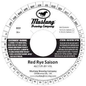 Red Eye Saison