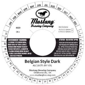 Belgian Style Dark