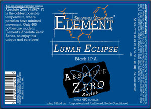Element Brewing Company Lunar Eclipse