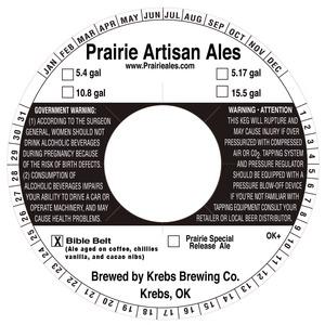 Prairie Artisan Ales Bible Belt