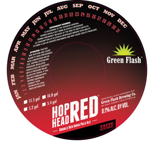 Green Flash Brewing Company Hop Head Red