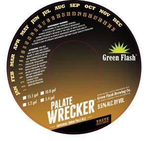 Green Flash Brewing Company Palate Wrecker