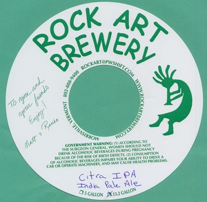 Rock Art Brewery Citra IPA