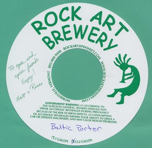 Rock Art Brewery Baltic Porter