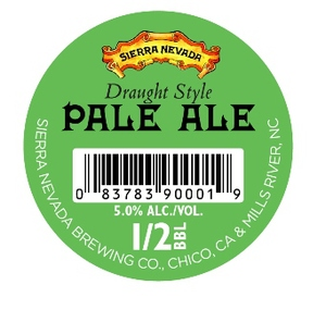 Sierra Nevada Draught Style Pale Ale