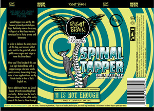 Right Brain Brewery Spinal Tapper