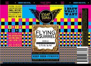 Right Brain Brewery Flying Squirrel