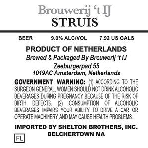 Brouwerij 't Ij Struis
