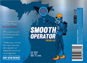 Right Brain Brewery Smooth Operator