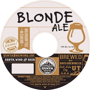Uinta Brewing Company Blonde