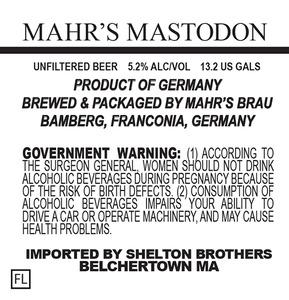 Mahr's Brau Mahr's Mastodon