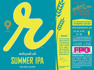 Reuben's Brews Summer IPA