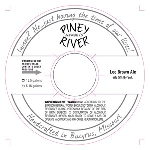 Piney River Brewing Co. LLC Leo