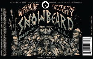 Wiseacre Brewing Company Snowbeard Barleywine Style Ale