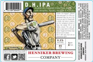 Henniker Brewing Company D.h. IPA