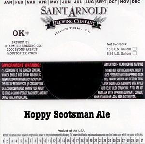 Saint Arnold Brewing Company Hoppy Scotsman