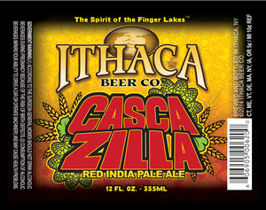 Ithaca Beer Company Cascazilla