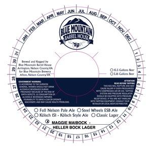 Blue Mountain Barrel House Maggie Maibock