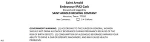 Saint Arnold Brewing Company Endeavour IPA2