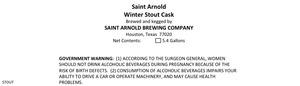 Saint Arnold Brewing Company Winter Stout