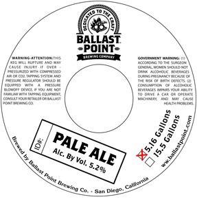 Ballast Point Pale