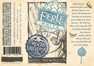 Odell Brewing Company Perle White