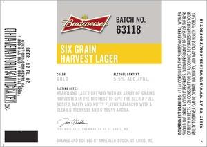Budweiser Six Grain Harvest