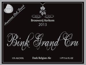 Brouwerij Kerkom Bink Grand Cru
