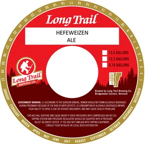 Long Trail Brewing Company Hefeweizen